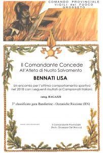 Attestato - BENNATI -18