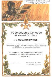 Attestato - RICCARDI - 18