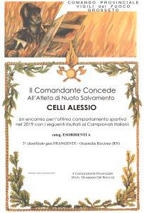 Attestato - CELLI Alessio -19