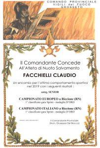 Attestato - Facchielli - 19